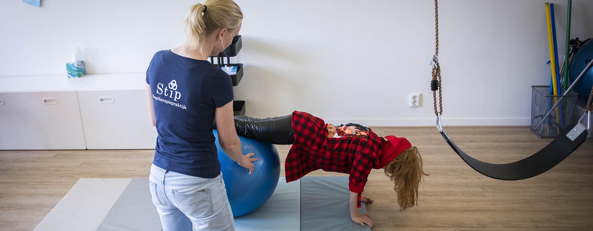Ergotherapiepraktijk Stip Behandeling kind