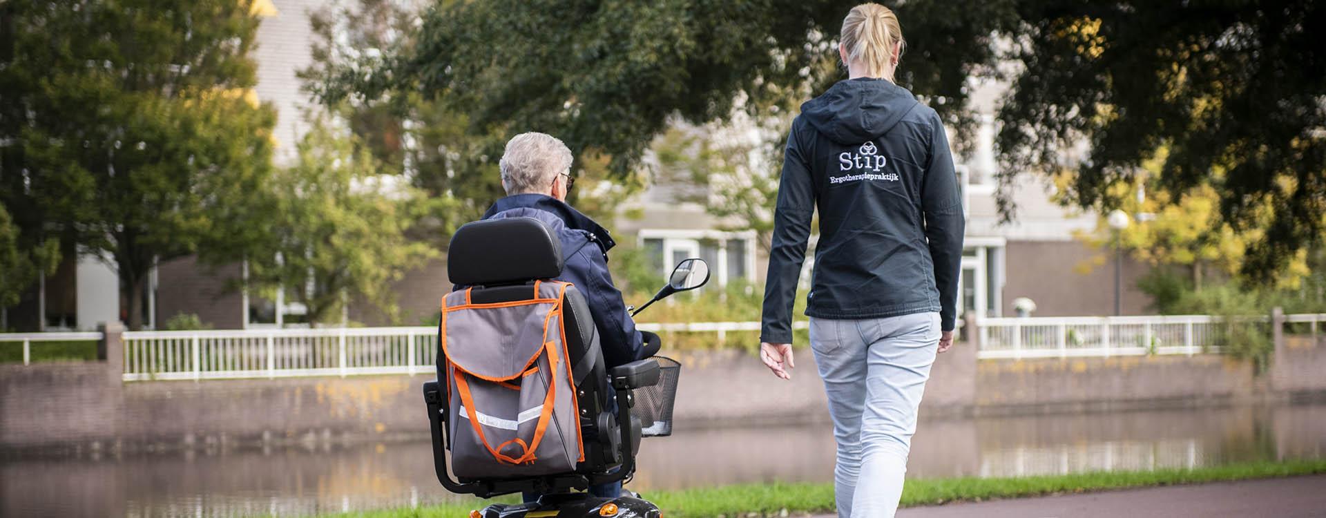 Ergotherapiepraktijk Stip Rijden in scootmobiel